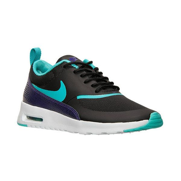 Women's Nike Air Max Thea Premium Running Shoes (99 AUD) ❤ liked on Polyvore featuring shoes, athletic shoes, leather running shoes, nike shoes, genuine leather shoes, light weight shoes and lightweight shoes