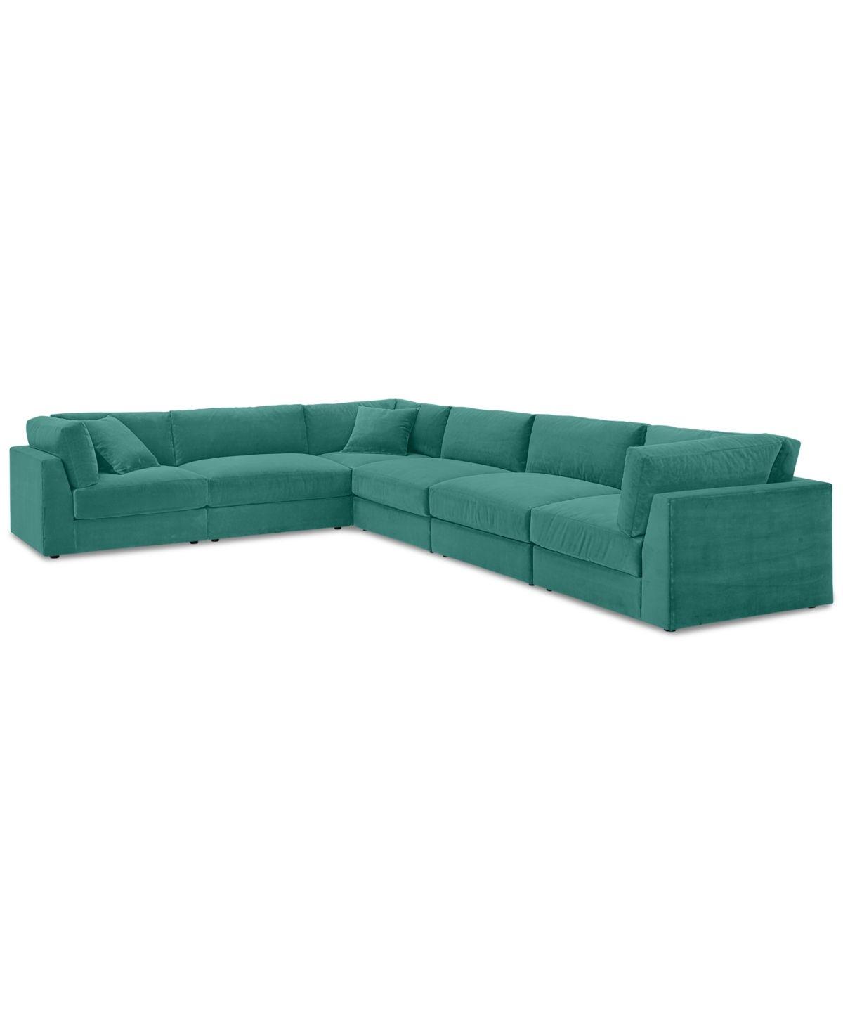 Best Aryanna 6 Pc L Modular Sofa Created For Macy S Bella 400 x 300
