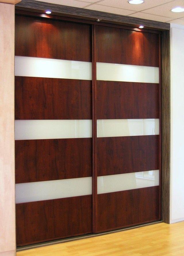 Portes coulissantes sur mesure Habillage très smart bois et autre - porte coulissantes sur mesure