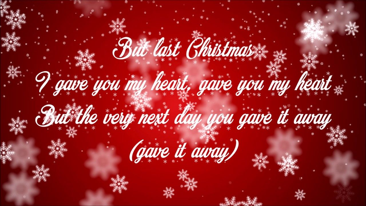 Last Christmas - Ariana Grande (Lyrics) - YouTube | CHRISTMAS ...