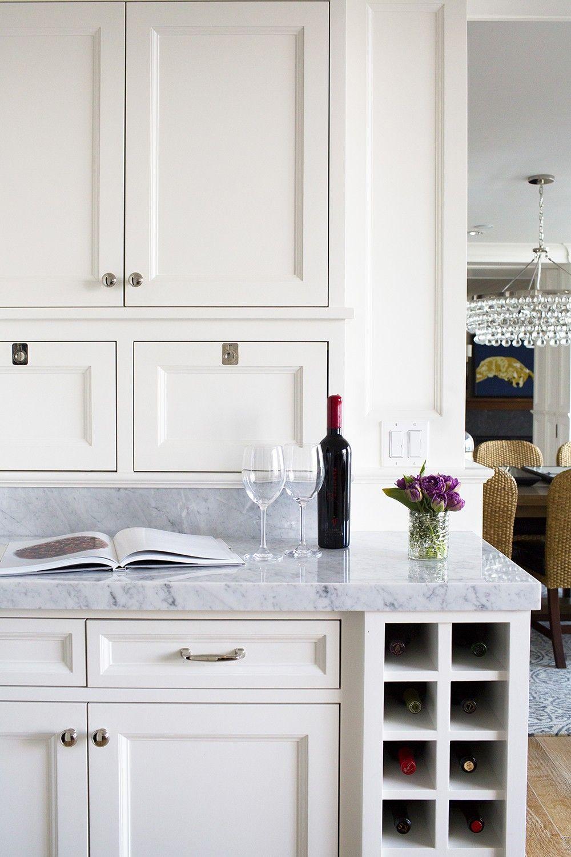 Coastal Seattle Home Issaquah Wa Kitchen Island Storage Built In Wine Rack Kitchen Remodel