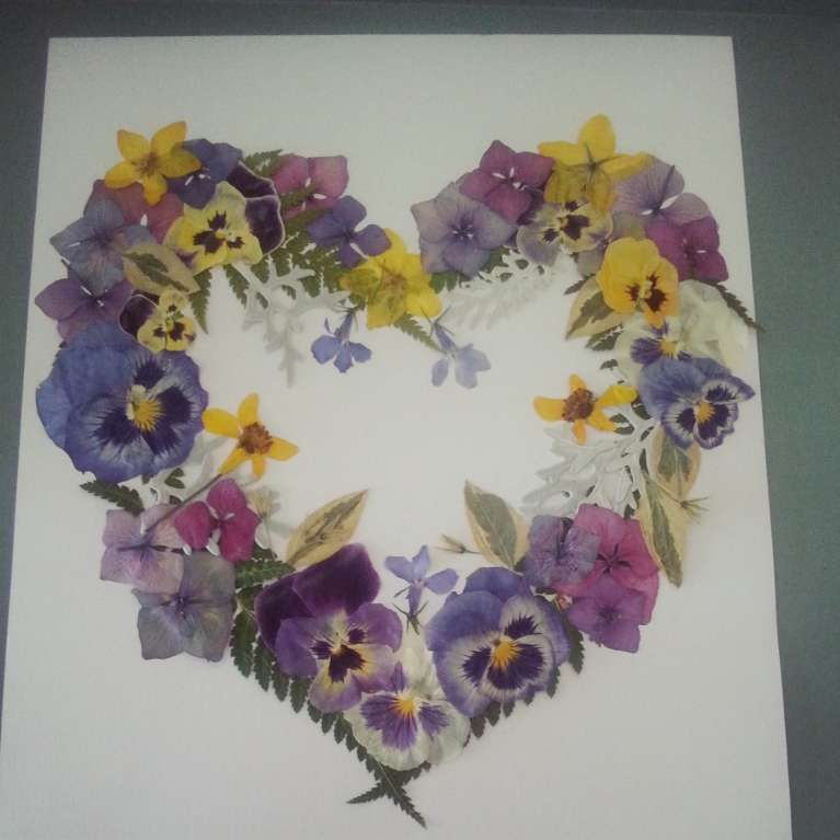 fiori secchi fai da te