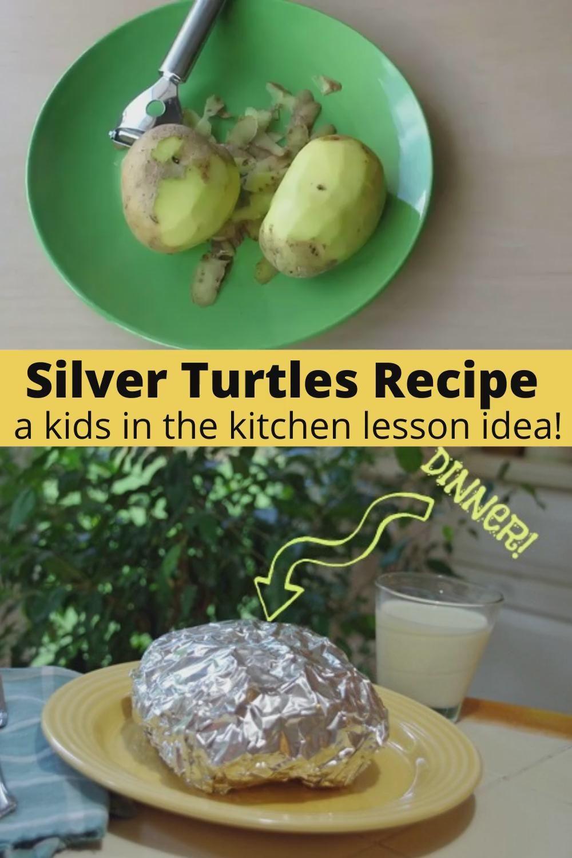 Photo of Silver Turtles Recipe: A Kids in the Kitchen Lesson Idea!