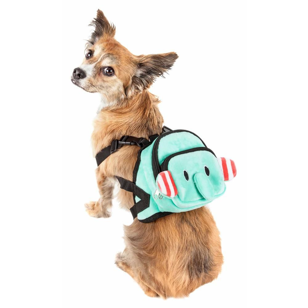 Pet Life Dumbone Small Dual Pocketed Compartmental Animated Dog