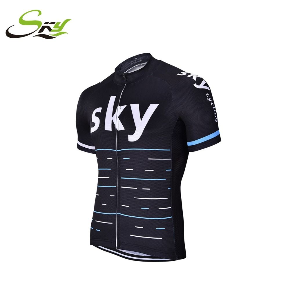2017 Team sky Pro Cycling Jersey Cycling clothing Breathable Mountain Bike  Clothes Quick Dry Bicycle Sportswear 4c76f6136