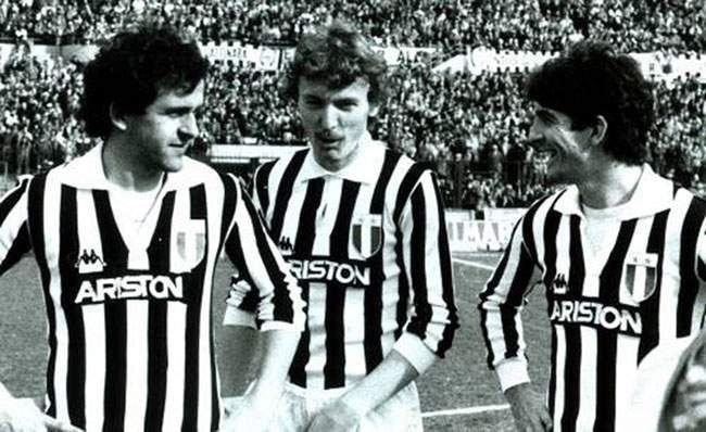 Platini + Boniek + Rossi | Juve