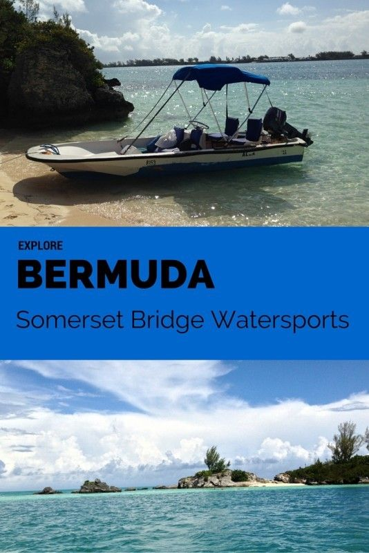 Rent jet skis or a boston whaler and navigate around Bermuda by yourselves. Stop for a picnic on a deserted island or drop anchor and snorkel anywhere you want. Check out Somerset Bridge Watersports and sail away in Bermuda.  Explore Bermuda with Somerset Bridge Watersports | tipsforfamilytrips.com