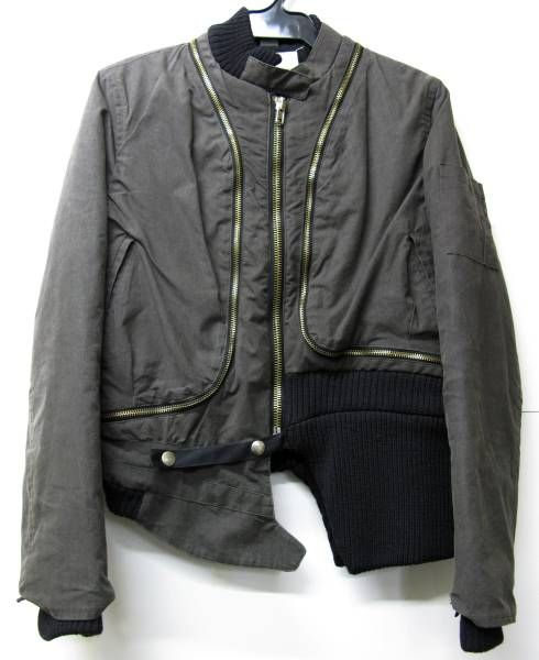 Men's outerwear jacket blouson reversibile
