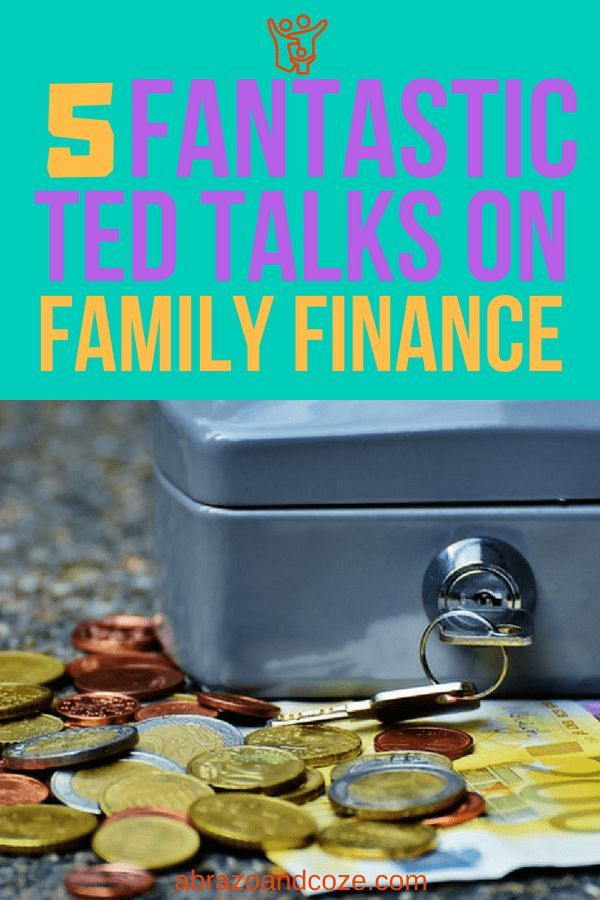 5 Fantastic Family Finance Ted Talks You Need To Watch