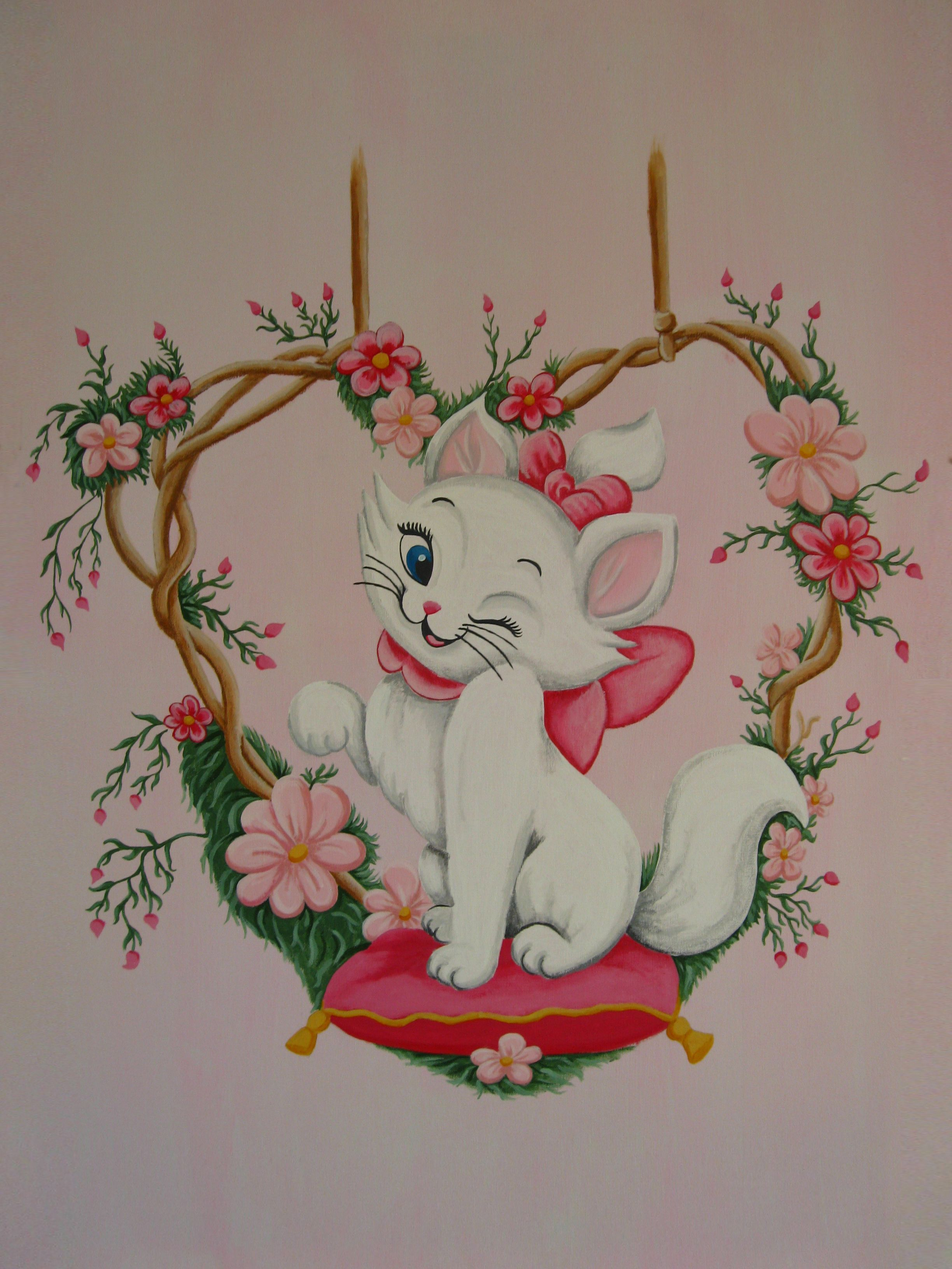 Wandmalerei Schlafzimmer Marie Aristocats Hair And Beauty Pinterest Kinderzimmer