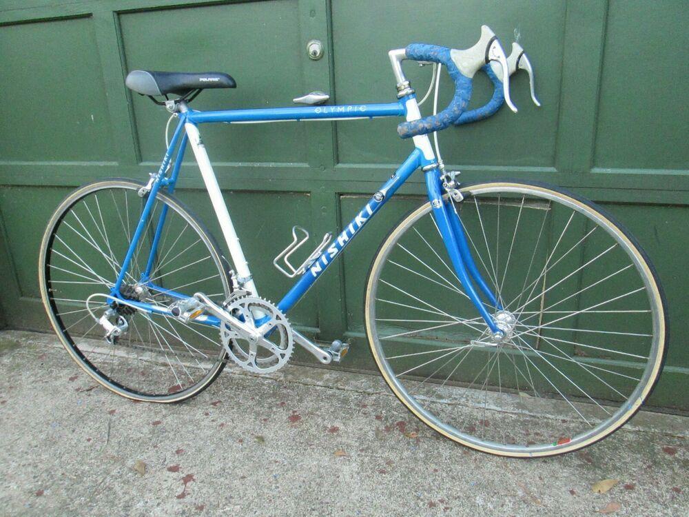 Cycling Nishiki Olympic 12 Speed Road Bike 23 Beautiful 2 Tone