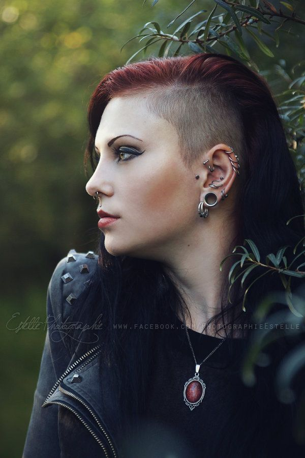 Girl With Sidecut By Estelle Photographie Deviantart Com