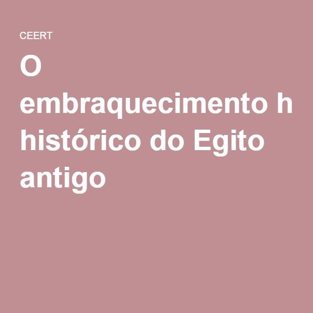 O embraquecimento histórico do Egito antigo