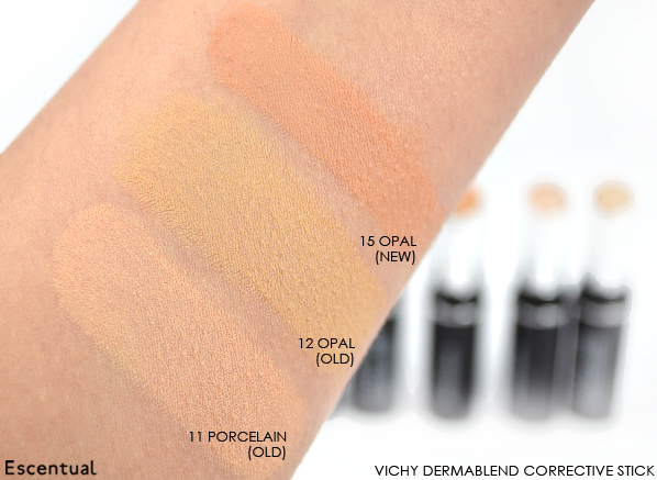Vichy Dermablend Corrective Make Up Collection Swatch