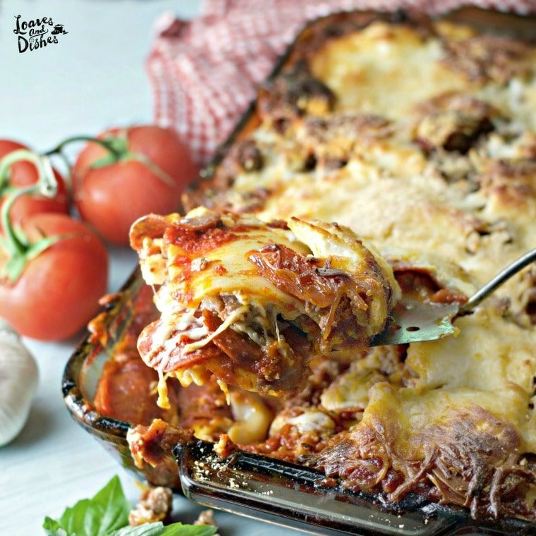 70 Drool Worthy Ground Beef Recipes That Will Make You: This Simple Recipe For Cowboy Lasagna Is Easy And Fast