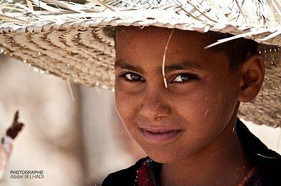 Cute boy from Matmata, Tunisia. Photo: Abdel Belhadi.