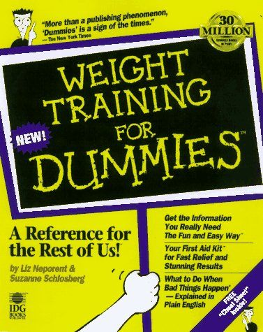 Weight Training For Dummies For Dummies Lifestyles Paperback