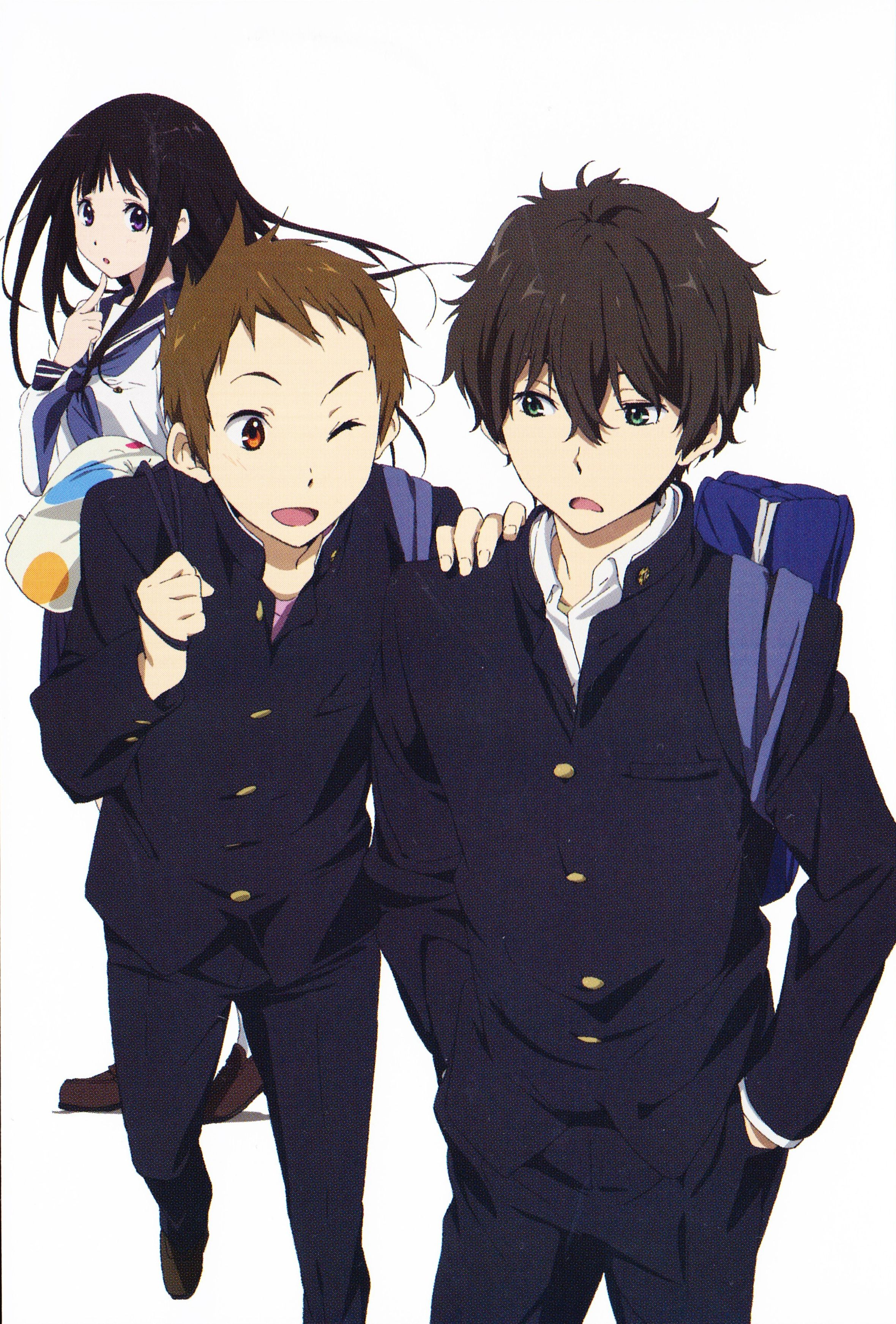 Hyouka Kyoto Animation Yonezawa Honobu Otaku anime