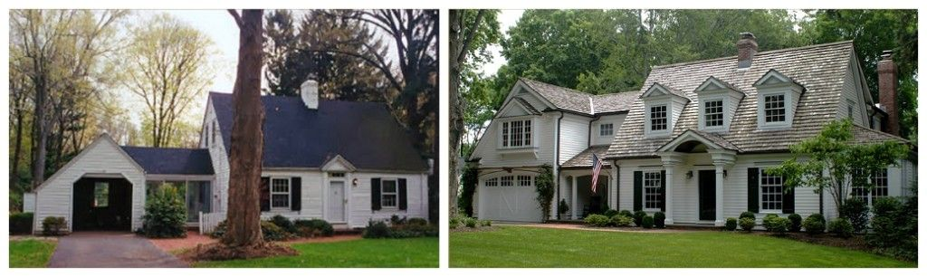 I Die Love The Transformation Cape Cod Remodel Before And
