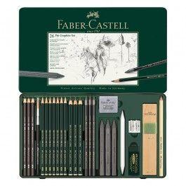 Faber Castell 9000 Pitt Graphite Pencil Sets Faber Castell Graphite Pencils Faber