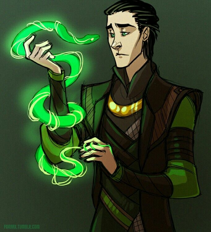 Loki and his magic