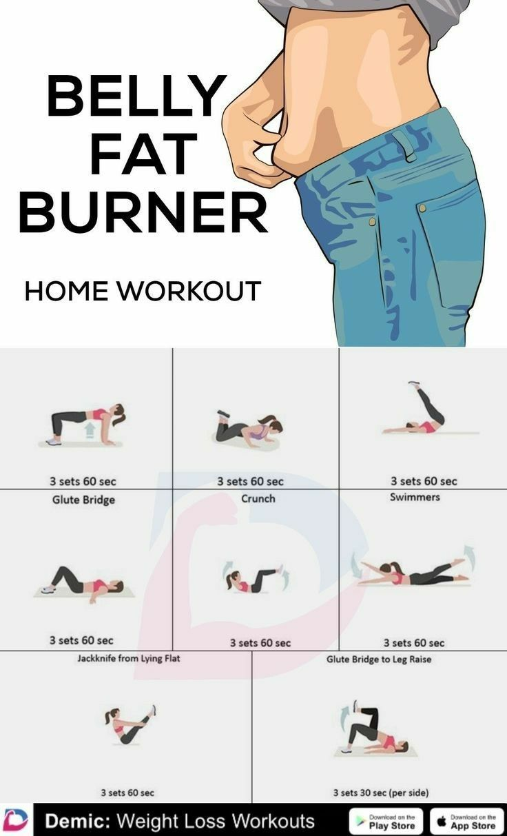 Ab Workouts At Home Flat Stomach ` Ab Workout