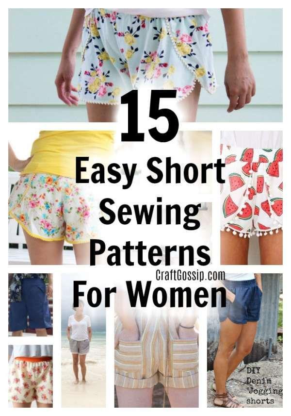 17 DIY Clothes No Sewing shorts ideas