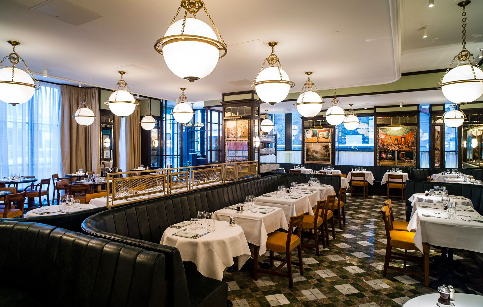 The ivy kensington brasserie restaurant kensington high - Ivy interior design software reviews ...