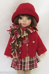 """OOAK PATSY'S READY FOR FALL! FOR 10"""" ANN ESTELLE, ETC. MADE BY SSDESIGNS"""
