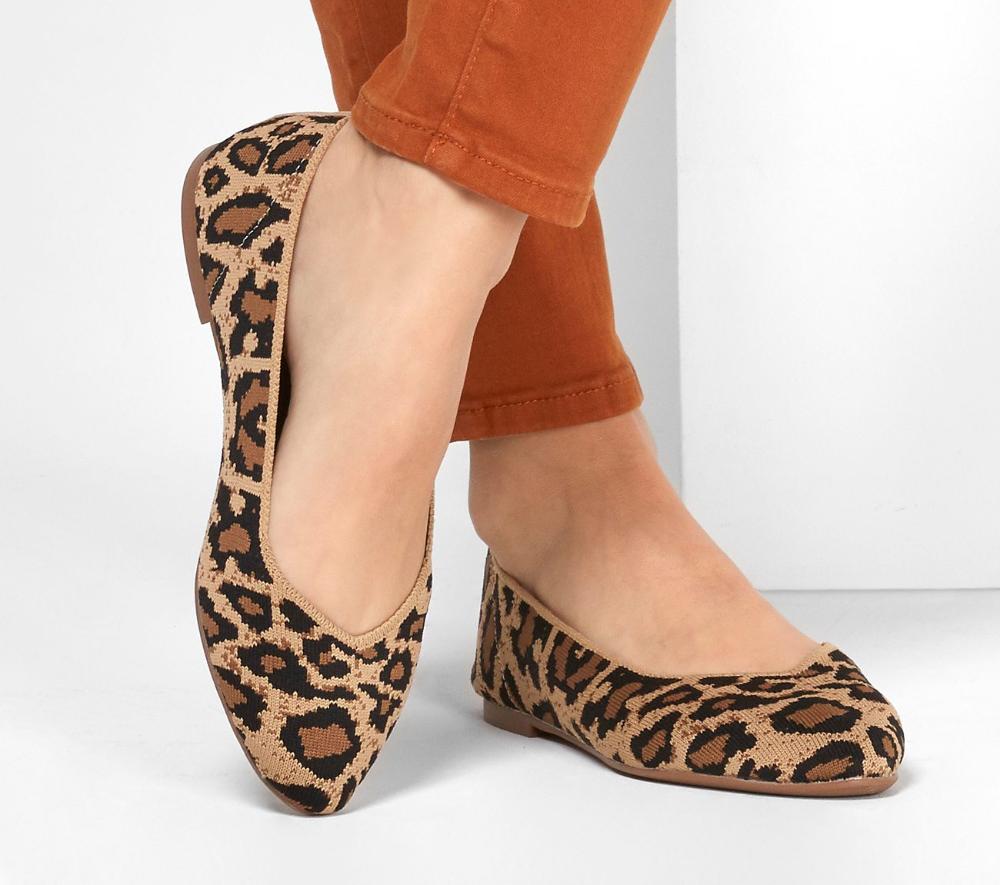 Leopard print shoes, Fabric shoes