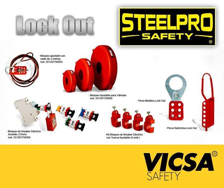 [LOCK OUT, la linea segura de STEELPRO:]  Conoce nuestros productos en: http://www.vicsasafety.com.pe/inicio   Consulta con tu asesor de ventas. Contáctanos: 715-7200 / ventas@vicsasafety.com.pe Twitter: @VicsaSafPeru Pinterest: VICSA Safety Perú  Youtube: VICSA Safety Perú  Linkedin: VICSA Safety Perú