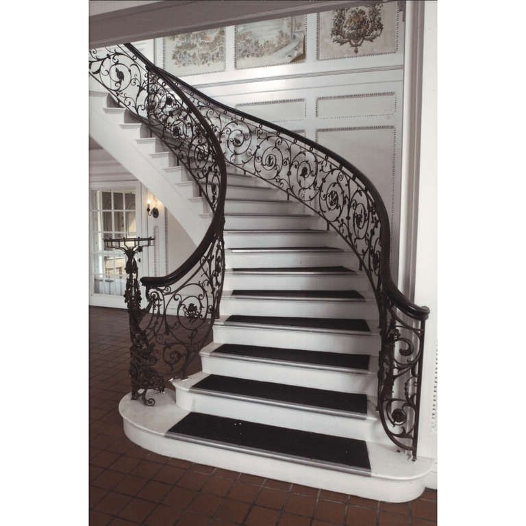 Best Samuel Yellin Grand Staircase Railing From A Unique 400 x 300