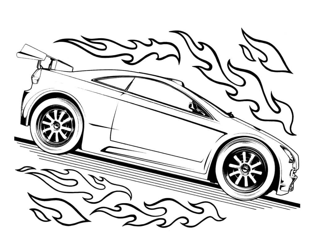 Pin By Carolyn Skala Lescher On K Hot Wheel Printables Race Car Coloring Pages Hot Wheels Party