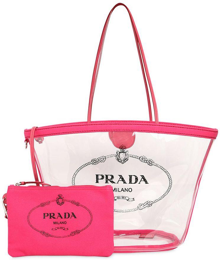 Prada-Logo-PVC-Tote-Bag   Bags  -) in 2019   Pinterest   Prada, Bags ... fa75aa7046