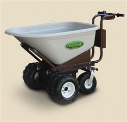 This Power Wheelbarrows With Dual Ag Tires Is Our Most Popular Electric Wheelbarrow That We Offer This C2 Wheelbarrow Powered Wheelbarrow Electric Wheelbarrow