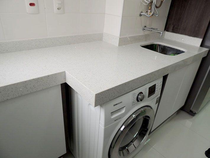 Revestimento quartzo banheiro : Quartzo stone branco stellar pedras
