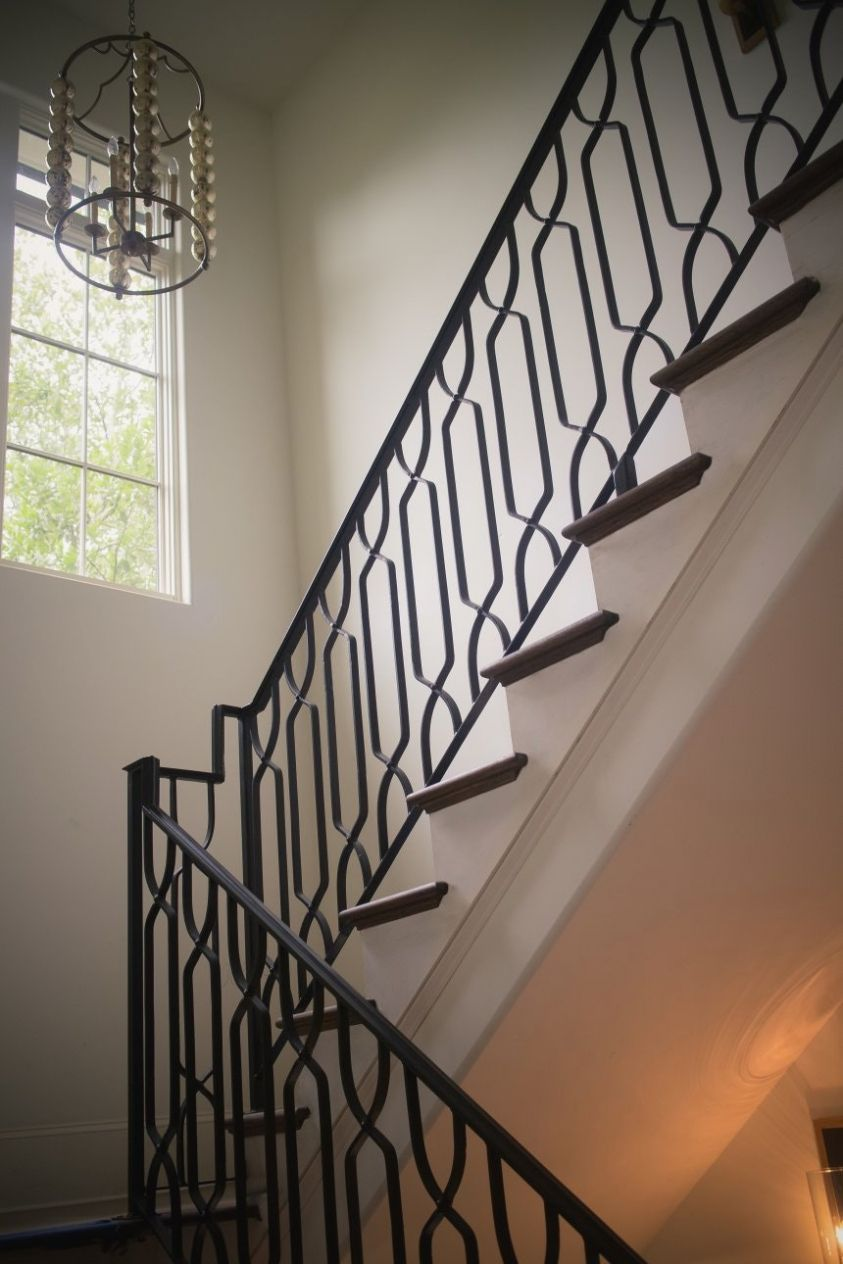 Image Result For Iron Stair Railing Stair Railing Design Modern | Wrought Iron Railings Lowes | Stair Balusters | Lowes Cost | Deck Railing | Baluster | Stairs