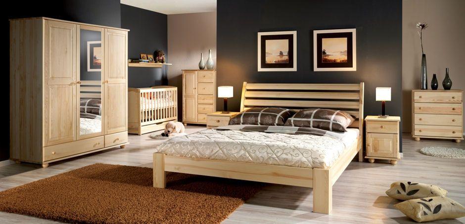 łóżka Drewniane Bez Pojemnika Meble Varsovia łóżka I