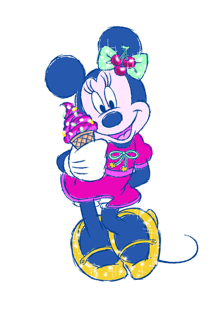 Minnie Mouse おしゃれまとめの人気アイデア Pinterest Nao Nao