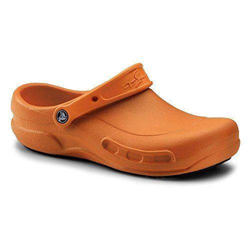 ad138a8ac83562 Crocs SureGrip Unisex - Adult Mario Batali Bistro Orange Slip Resistant  Work Clogs    Click image to review more details.