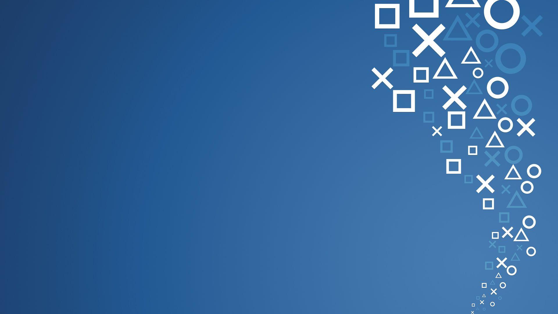 Desktophdwallpaper Org Playstation Wallpaper Abstract Wallpaper