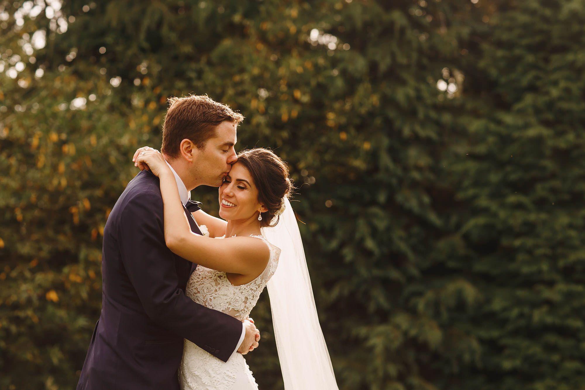 Bride and groom portraits inverness wedding photography achnagairn