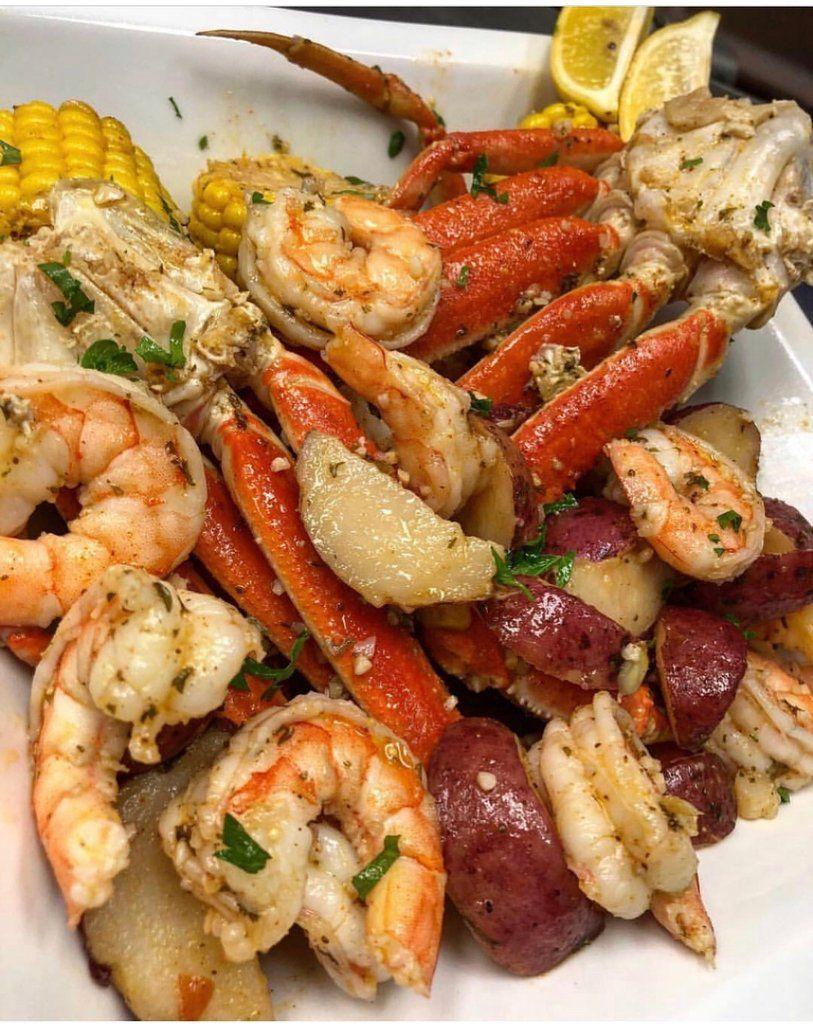 Garlic honey butter crab boil seafood boil recipes crab