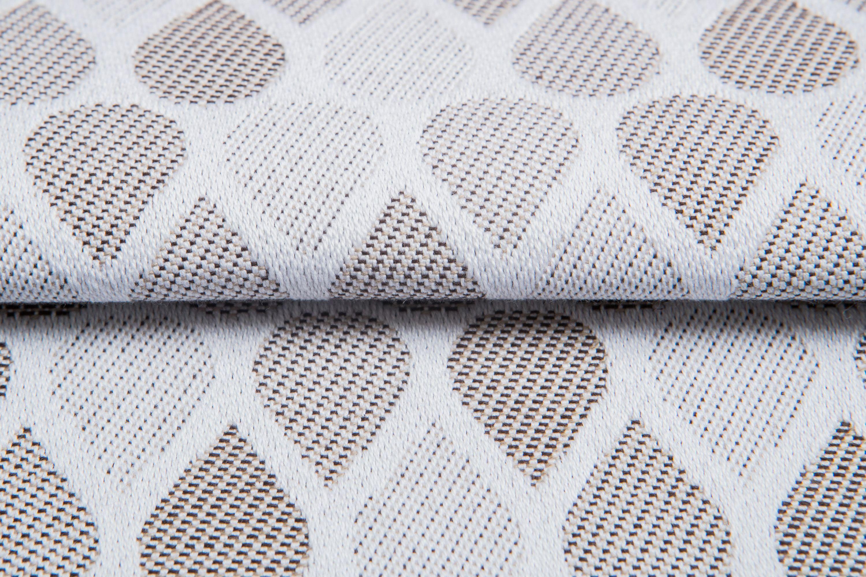 Raindrops Caffe Latte #weavingstudio #fabricart #cottonfabric #raindrops #caffelatte #beige