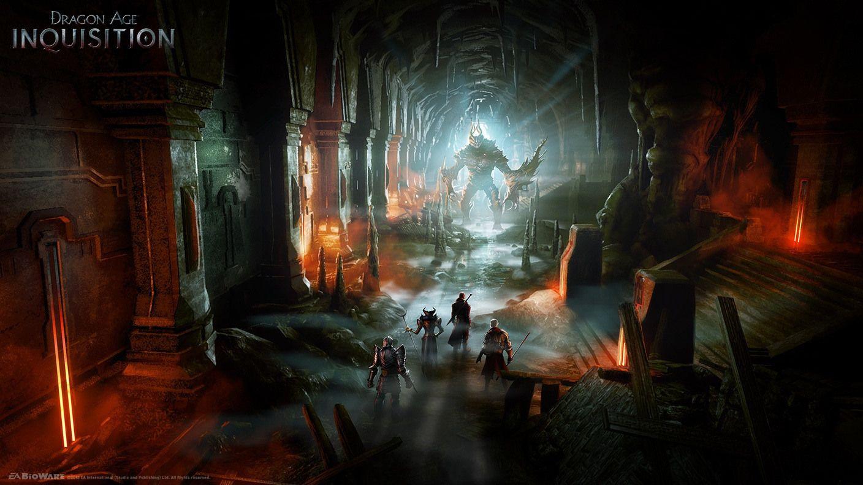 Cave Video Games Artwork Dragon Age Inquisition Dragon Age Wallpaper Dragon Age