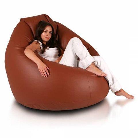 Bean Bag Brown Giga Sak Bean Bag Chair Leather Bean Bag Chair Bean Bag