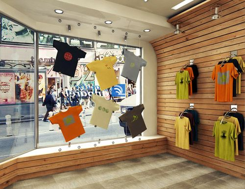 Shirt Design Shops | Commercial Interior Design Before And After Projects For 2010