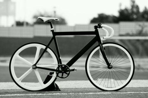 Dream of black and white! | Bikes | Pinterest