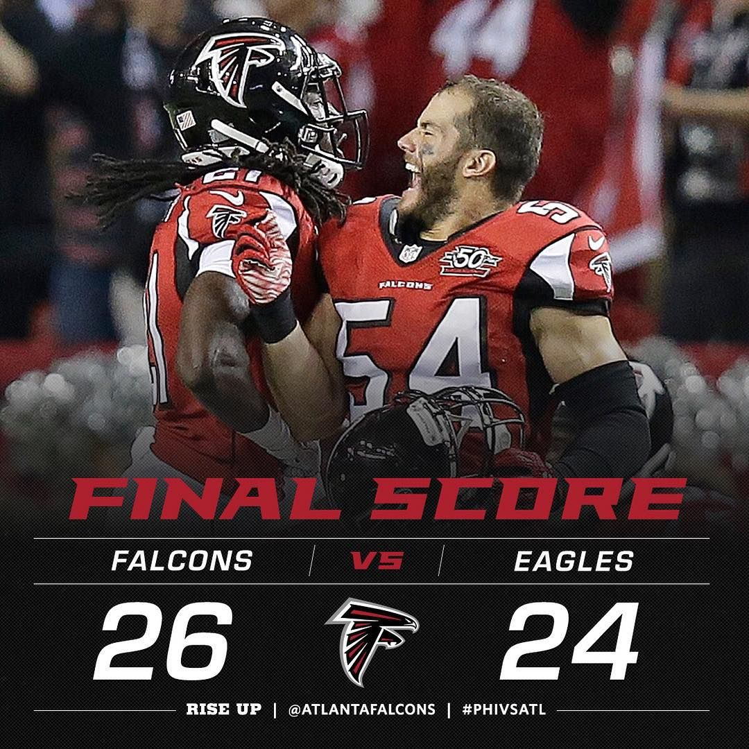 What A Way To Start Falcons Take A Close One Over The Eagles To Start The Season 1 0 Phiv With Images Atlanta Falcons Football Atlanta Falcons Pictures Atlanta Falcons