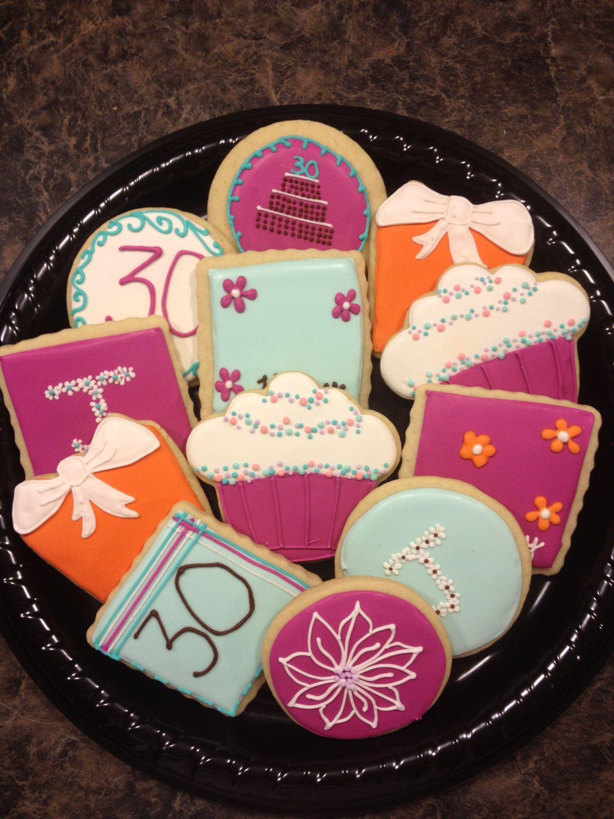 30th birthday cookies birthday cookies monster cookies
